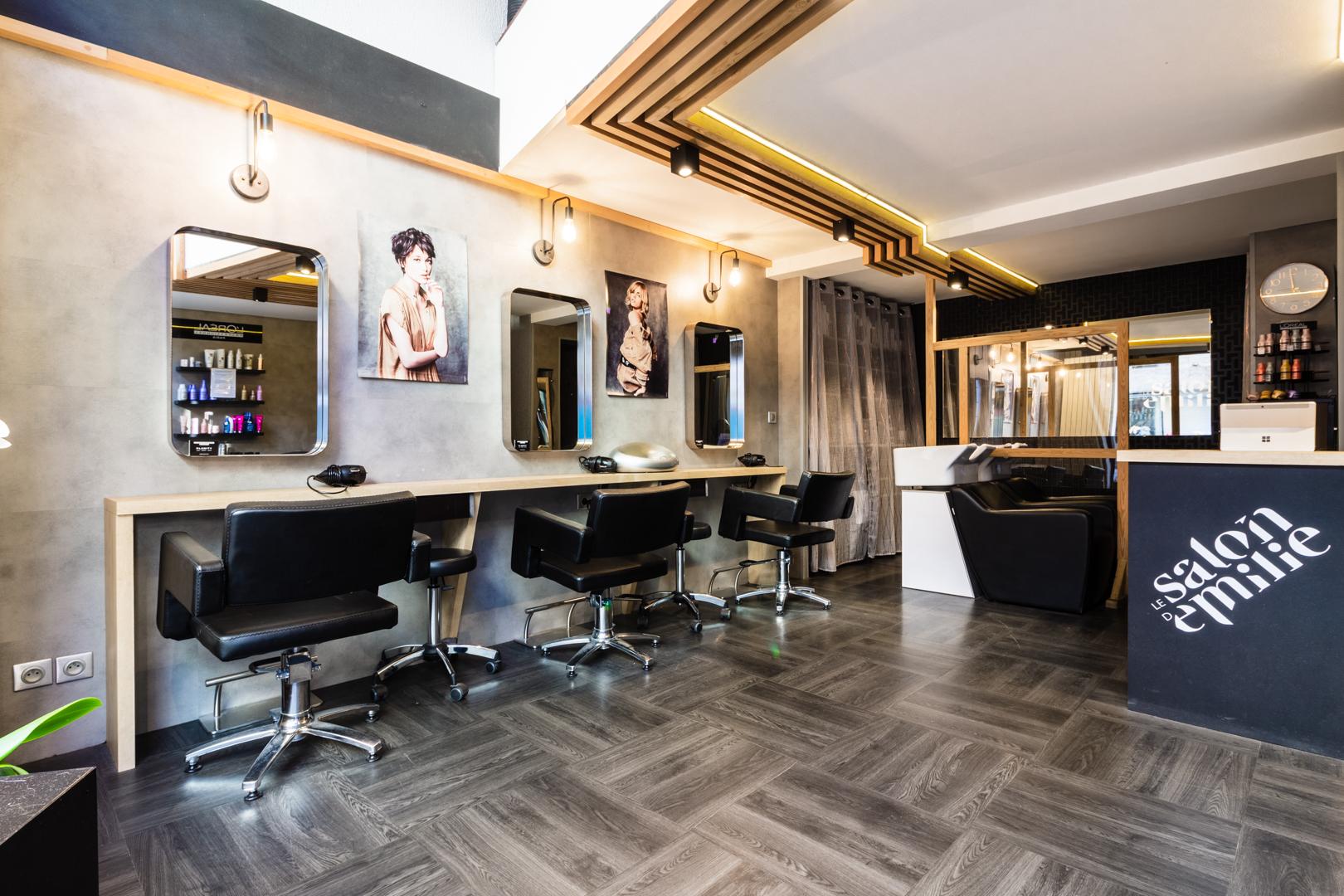 photographie-d-interieur-salon-coiffure-bagnères-de-luchon-décoration